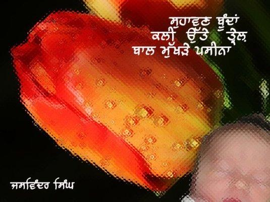 Jaswinder Singh - ਕਲੀ ਉੱਤੇ ਤ੍ਰੇਲ  کلی اتے تریل
